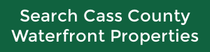 search Cass County waterfront properties